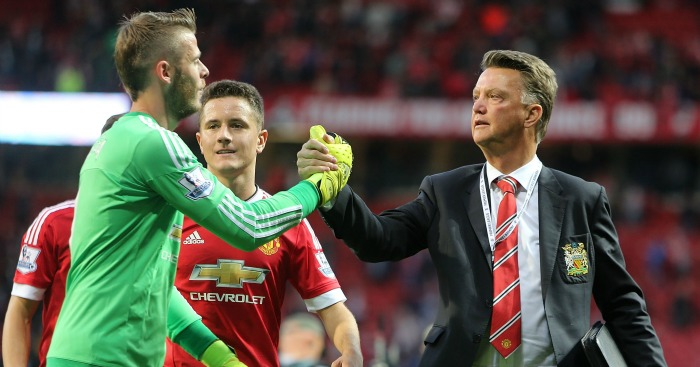 David de Gea: Raises questions over Van Gaal era