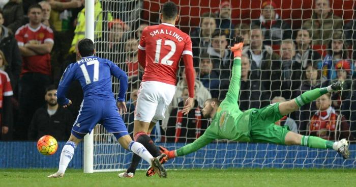 David de Gea Manchester United v Chelsea