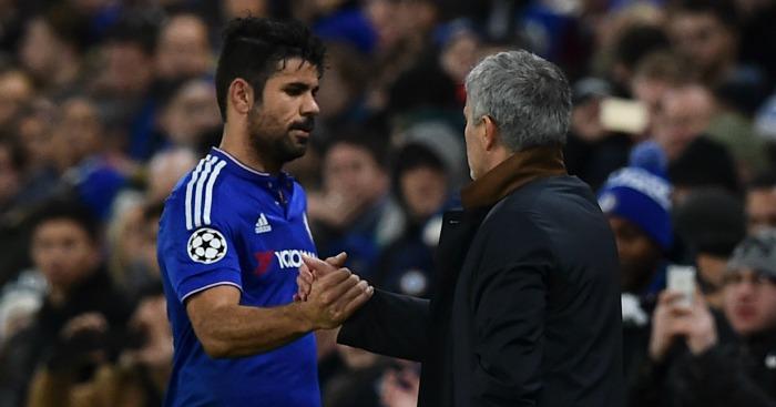 Diego Costa Jose Mourinho
