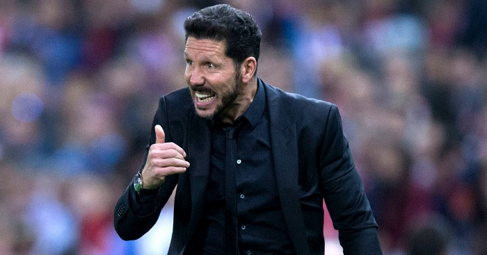 Diego Simeone: In no hurry to cut ties with Atletico