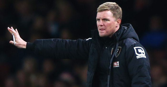 Eddie Howe: Happy to claim a point at Leicester