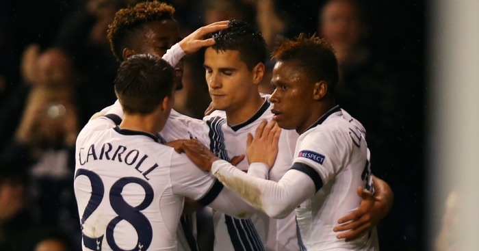 Erik Lamela: Scored a hat-trick against Monaco