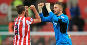 Jack Butland: Believes Manchester City were embarrassed at Stoke City