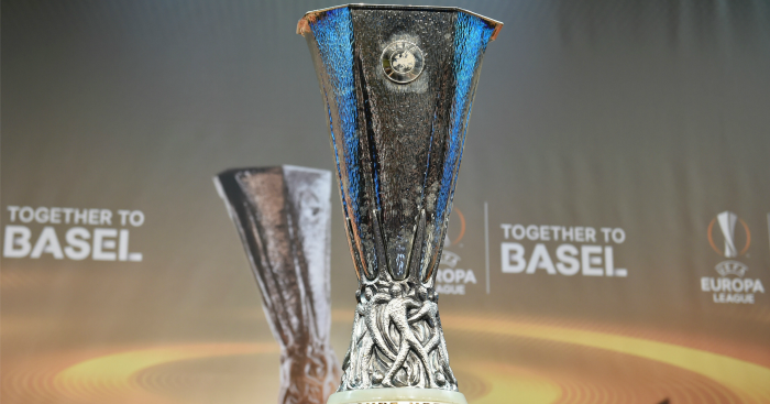 Europa League trophy: Draw made on Friday