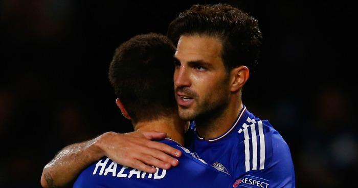 Cesc Fabregas and Eden Hazard: Reportedly wanted Mourinho out