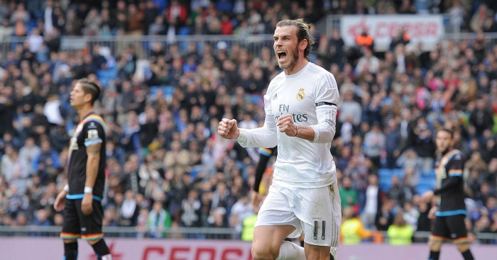 Gareth Bale: Forward doubled his tally for the season