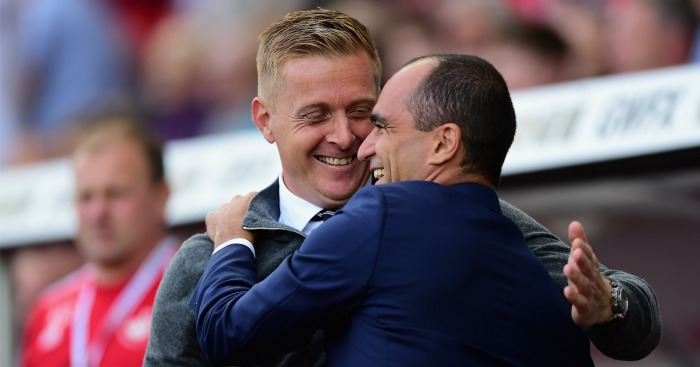 Roberto Martinez: Praise for sacked Swansea City boss Garry Monk