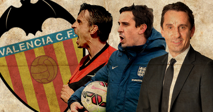 Gary Neville: Named Valencia coach until the end of the season
