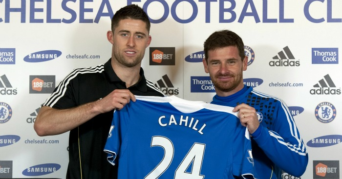 Gary Cahill: Joined Chelsea in January 2012