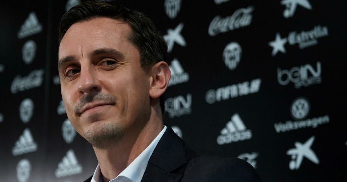 Gary Neville: Finding his feet at Valencia