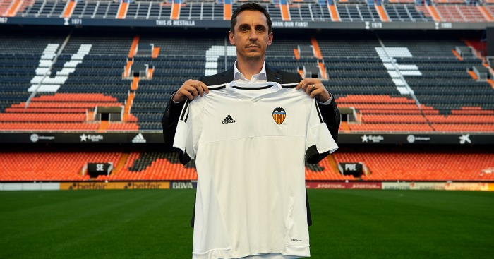 Gary Neville: Unveiled as Valencia manager on Thursday