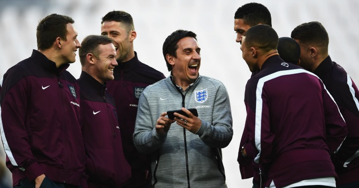 Gary Neville: In charge at Valencia for rest of the season
