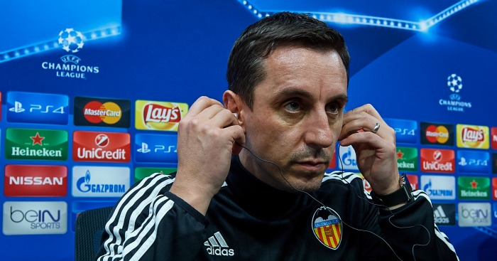 Gary Neville: Feeling the heat in Spain
