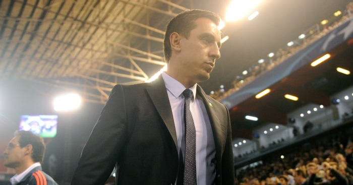 Gary Neville: Does not expect to manage Manchester United