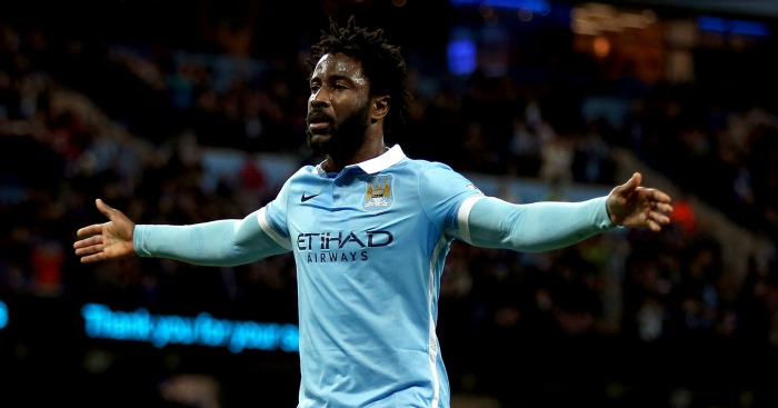Wilfried Bony: Amongst scorers as Man City beat Hull