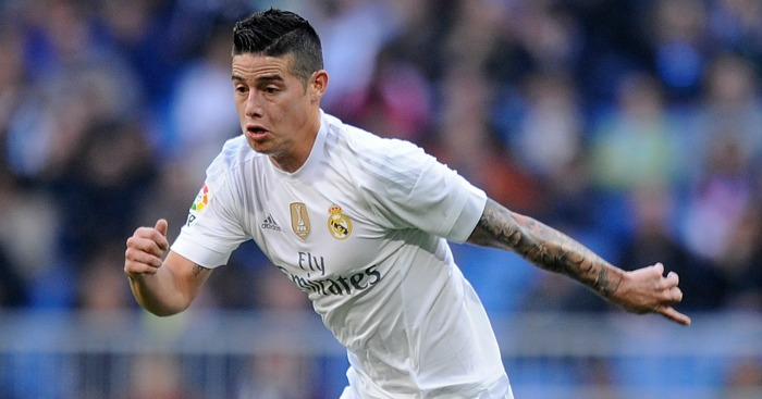 James Rodriguez: Tipped for big-money move to Old Trafford