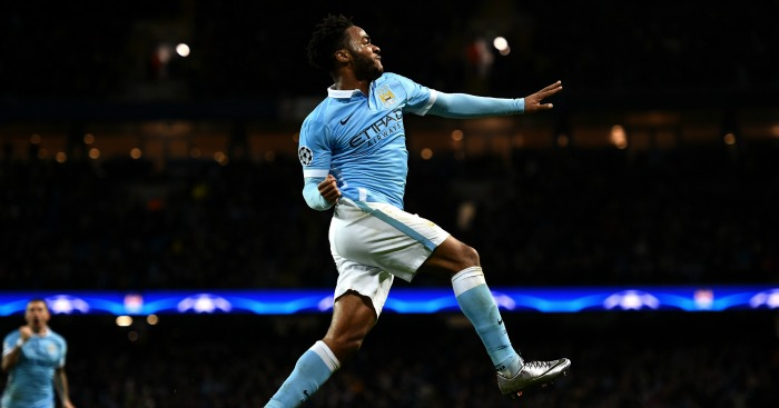 Raheem Sterling: Scores two as City fire through