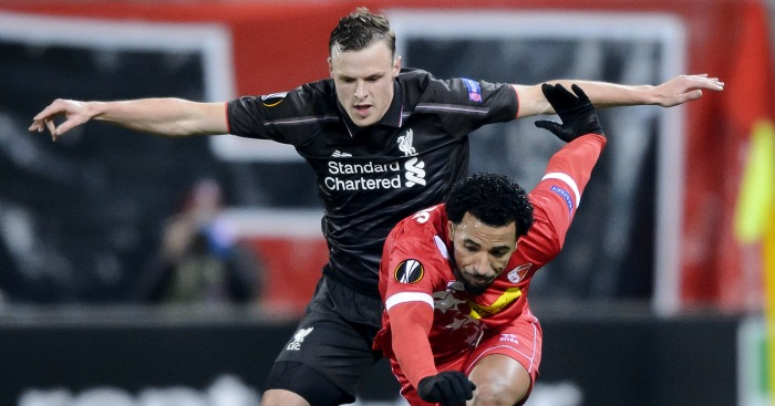 Brad Smith: Impressive in full debut for Liverpool against Sion