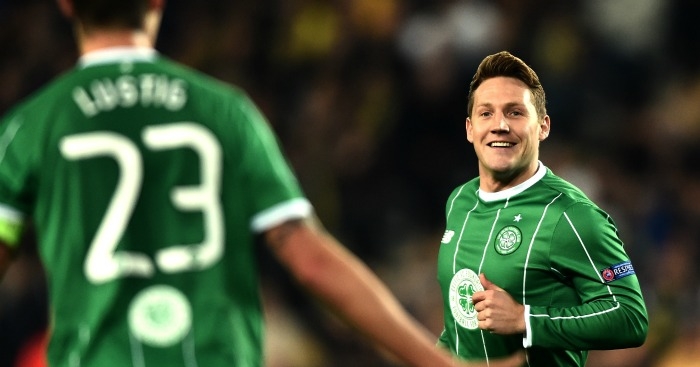Kris Commons: On target for Celtic against Fenerbahce