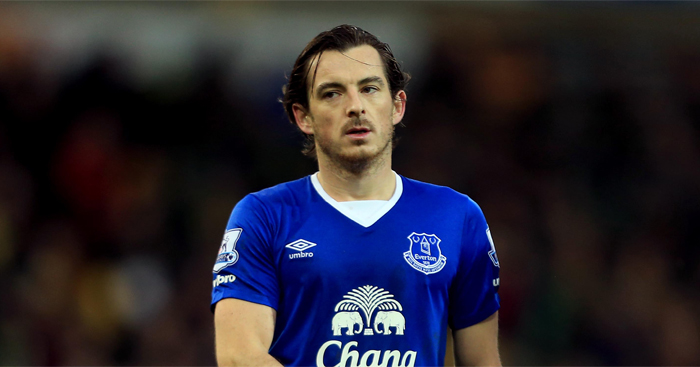 Leighton Baines: Hits out at a lack of chemistry among players