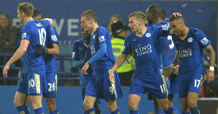 Leicester City: Premier League leaders the Team of 2015