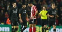 Graziano Pelle: Looks dejected during Southampton's defeat to Liverpool
