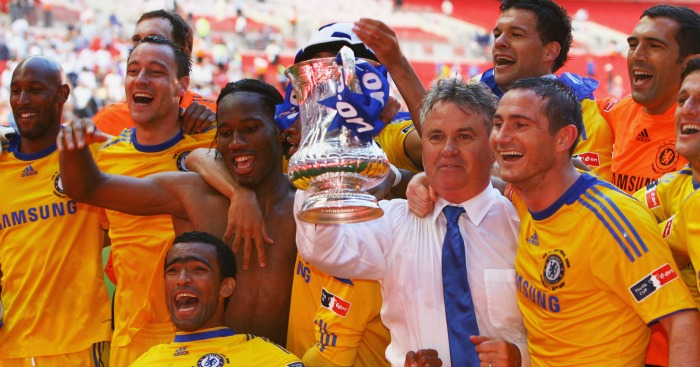 Guus Hiddink: Won FA Cup with Chelsea in 2009
