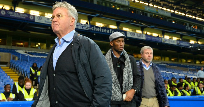 Guus Hiddink: Could be assisted by Didier Drogba at Chelsea