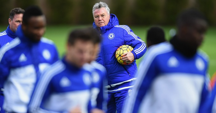 Guus Hiddink training