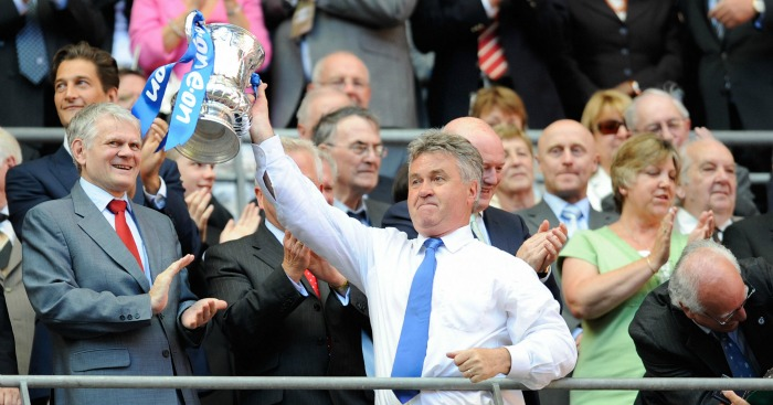 Guus Hiddink: Manager won FA Cup with Chelsea in 2009