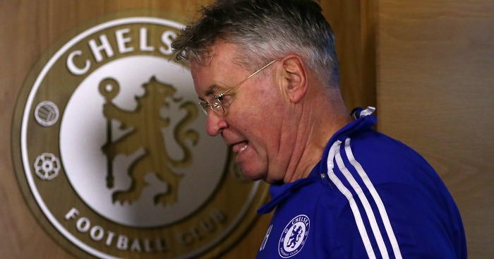 Guus Hiddink: Insists pressure is part of the job