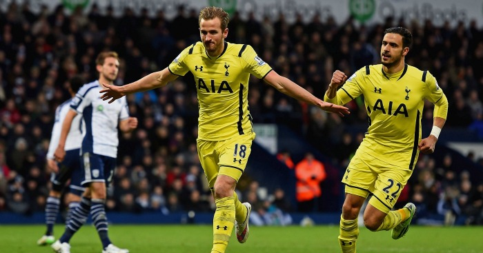 Harry Kane: Has scored three goals in two games against West Brom