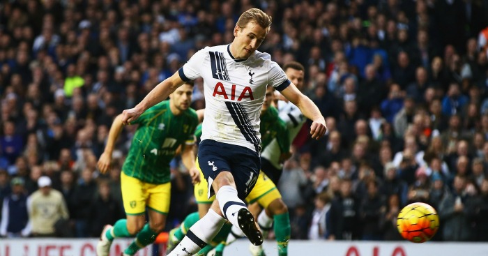 Harry Kane: Striker opened scoring from penalty spot