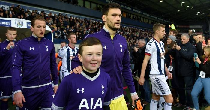 Hugo Lloris: Leads out Tottenham at West Brom on Saturday