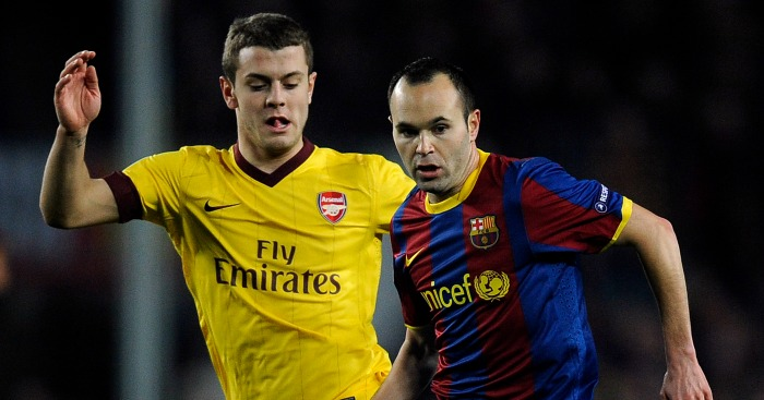 Jack Wilshere: Tracks Andres Iniesta when the sides last met
