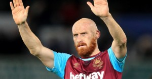 James Collins: Signed two-year extension to West Ham contract