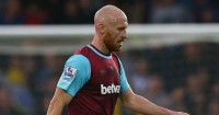 James Collins: Hoping to return to first-team action