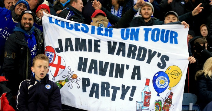 Jamie Vardy: Can score again as Leicester travel to Swansea