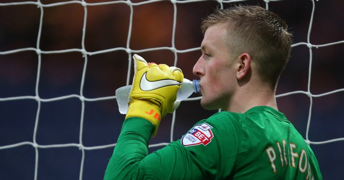 Jordan Pickford: Linked with Manchester United and Spurs
