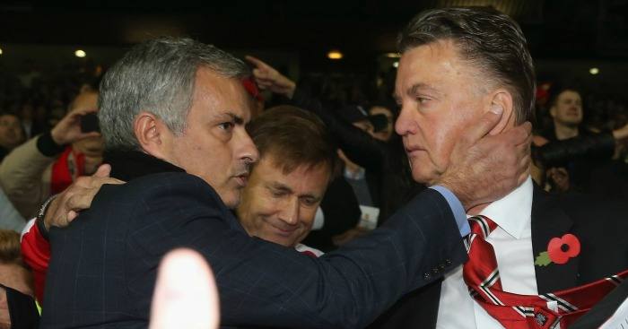 Jose Mourinho: Linked with Louis van Gaal's job