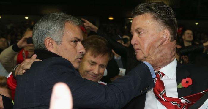 Jose Mourinho: Linked with Louis van Gaal's job