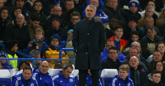 Jose Mourinho: Manager under pressure at Chelsea