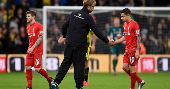 Jurgen Klopp: Sent back down to earth after Watford defeat