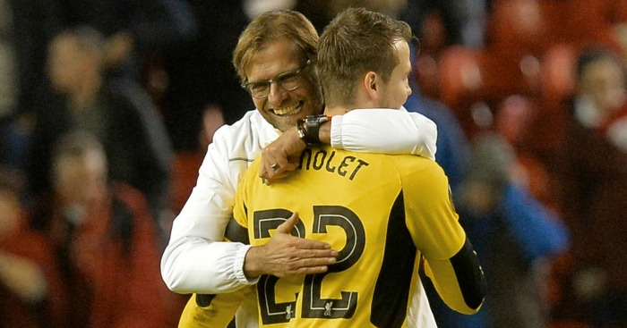 Jurgen Klopp: Declared himself happy with Simon Mignolet