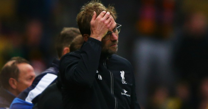 Jurgen Klopp: Irked by Liverpool's packed schedule