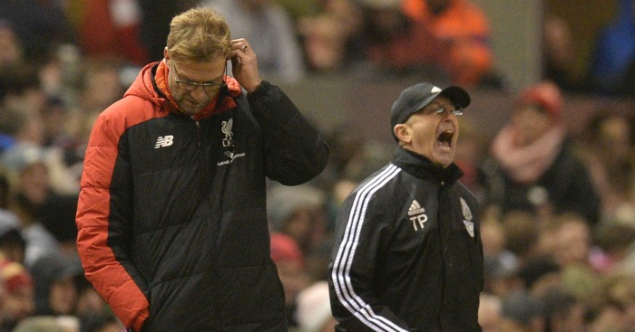 Jurgen Klopp: Tries to build bridges with Tony Pulis