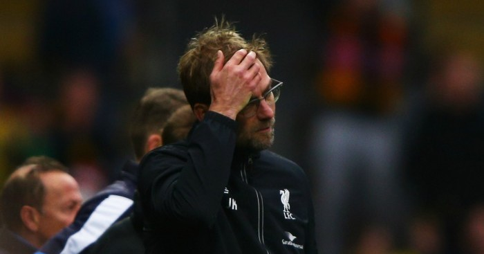 Jurgen Klopp: Happy with recent attitude of Liverpool players