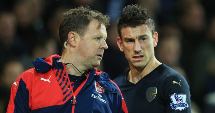 Laurent Koscielny: Could be fit for Arsenal's clash with Sunderland