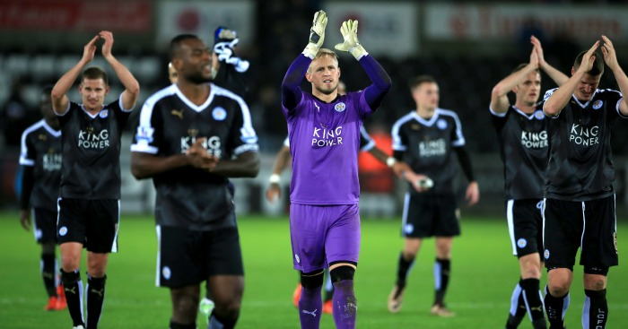 Leicester City: Top of the Premier League after win at Swansea City