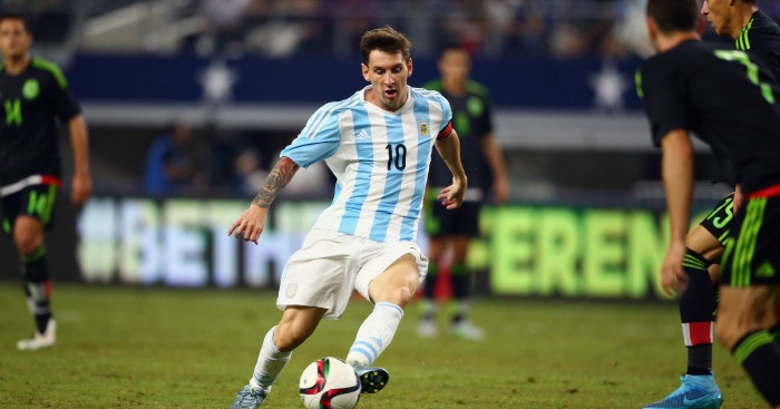 Lionel Messi: Forward has scored 49 goals for Argentina